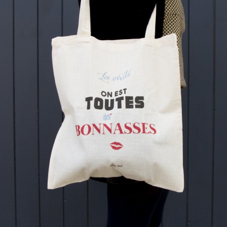 "Sac tote bag ""Bonnasses"""