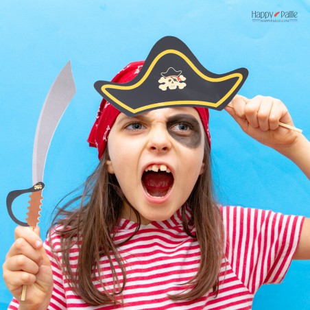 Photobooth anniversaire Pirate