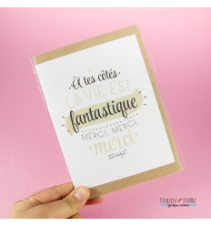 Carte des Amoureux mr Wonderful