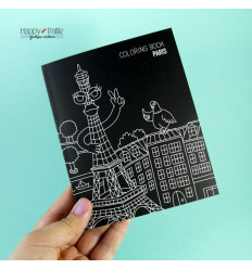 Carnet de notes coloriage Paris