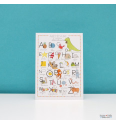 Carte enfant ABC