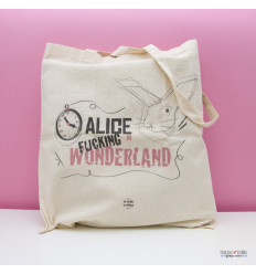 Tote bag Alice in Wonderland