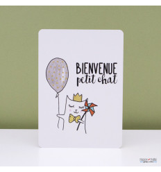 Carte Bienvenue Chat