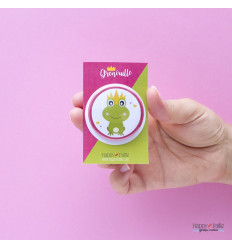 Badge grenouille royale