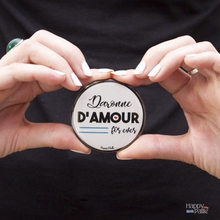 "Badge Maman ""Daronne d'Amour"""