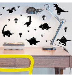 Stickers chambre dinosaures