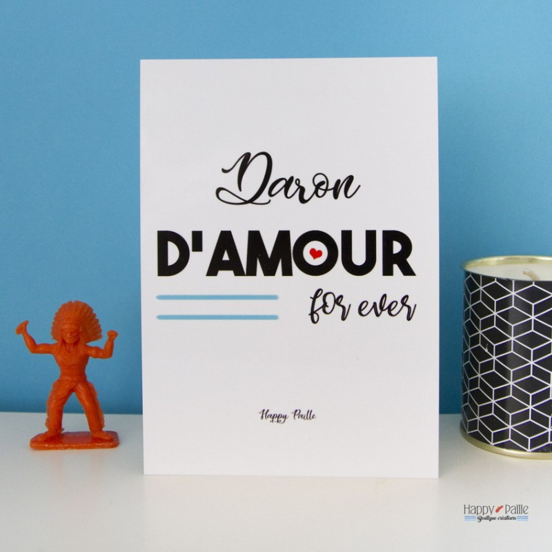 Carte Daron d'Amour