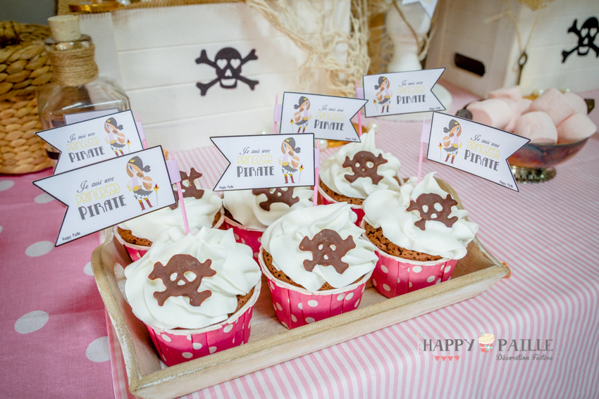 Toppers princesse pirate
