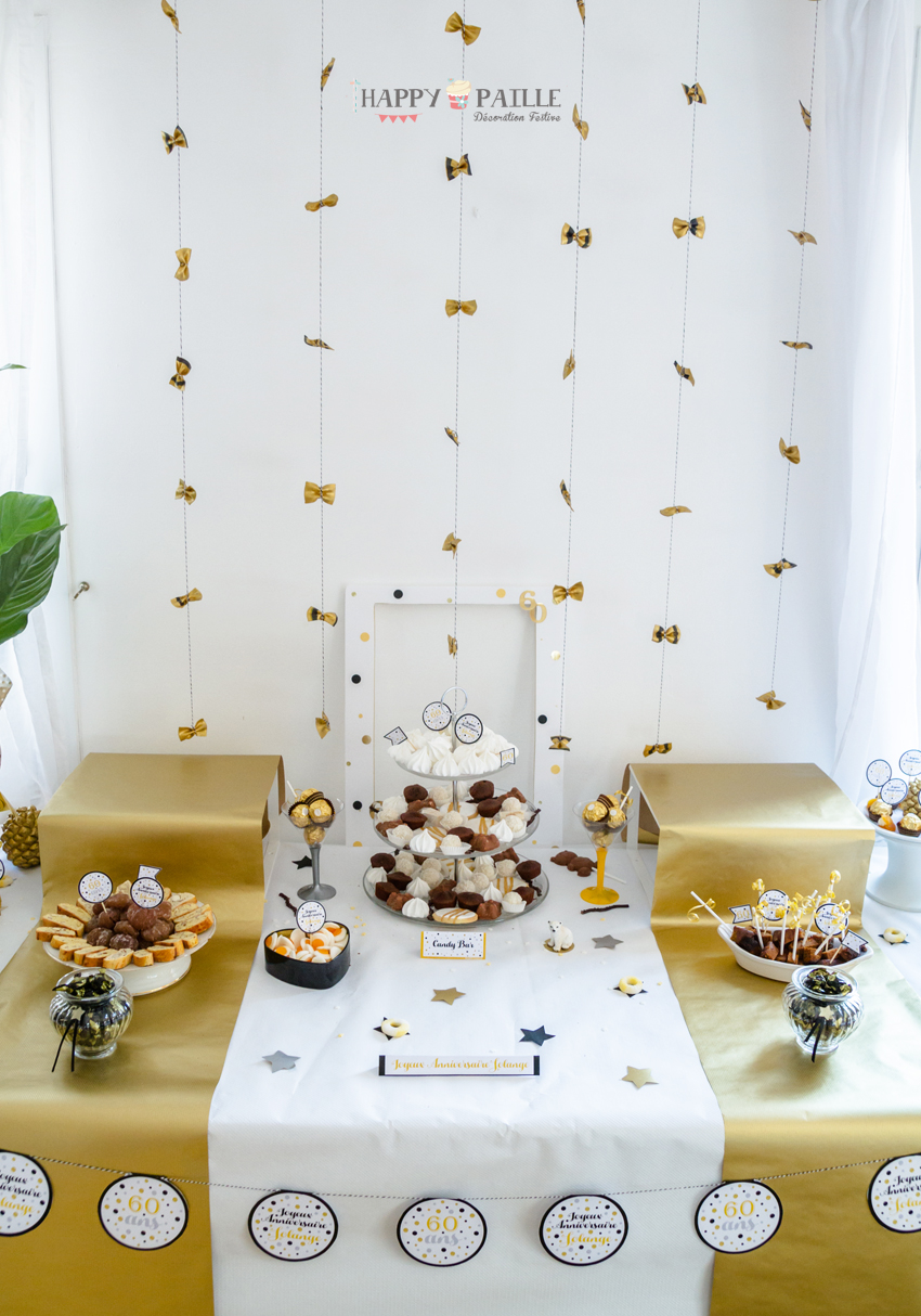 Sweet table solange 60 ans